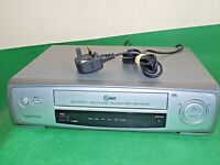 LG LV200 Video Cassette Recorder VHS Smart VCR Silver Long Play FULLY TESTED