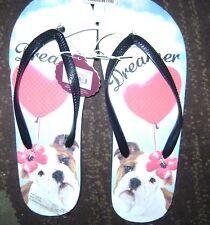 Dreamer Dog Flip Flops from Kohls Size M