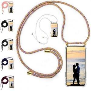 Handy Hülle mit Band Handykette für iPhone Schutzhülle Kordel Case Umhängen Seil