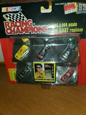 NASCAR 1997 Racing Champions 5 car set with Matching Trading Cards NEW 6