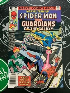 Marvel Team-Up #86 & 88 1979 NM 9.2 Newsstand Spider-Man Guardians of the Galaxy