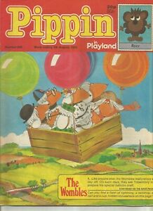 Pippin in Playland #880 : August 1983 : Vintage UK Comic Book.
