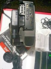 Lot 12 JVC Camcorder items GR-AX25U VHS-C COMBO Video recorder See discription