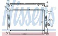 NISSENS Radiateur moteur pour OPEL VECTRA 63289A - Pièces Auto Mister Auto