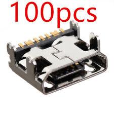 100 X New Micro USB Charging Port For Samsung Galaxy E5 E5000 E5009 E500 S978L