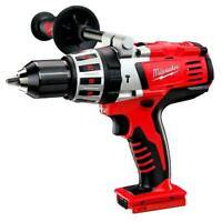 "Milwaukee 0726-20 M28 28V 1/2"" Hammer Drill w/ No. 2 Phillips Bit - Bare Tool"