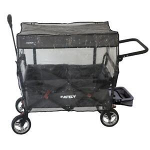 Regenschutz transparent für FUXTEC Bollerwagen CT800 Luftschutz Winterschutz