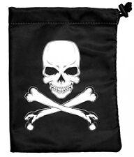 Ultra Pro Tesoro Nido dado Bolsa, Skull & Bones, 6.25 in (approx. 15.88 cm) X 8.5 in (approx. 21.59 cm) Nuevo