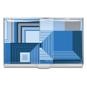 """ACME Studio """"Biltmore Blue"""" Business Card Case by Frank Lloyd Wright"""