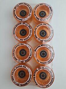 Moxi Beach Bunny 59mm 78A ABEC 5 Bearings Free Postage NEW Glitter Peach