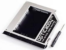 Opticaddy 2. SATA-3 HDD/SSD Caddy+frontalino Dell Latitude E6320