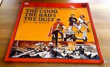 ENNIO MORRICONE THE GOOD THE BAD & THE UGLY OST 1st Mono UK LP 1968 SERGIO LEONE