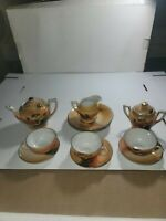 14 Pieces Made in Japan Translucent Dishes - Cups/Plates/Creamer/Sugar/Saucers