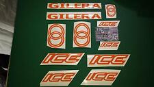 Gilera ICE Stickers / Decal Set  SP FX FXR 50, 125, 172, 180, 183 *ALL COLOURS *