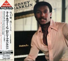 Rodney Franklin - You'll Never Know CD 1980 RARE SOUL JAZZ FUNK LTD. ED JAPAN