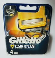 4 Original Gillette Fusion ProShield Rasierklingen Klingen 4er Hautschutz OVP