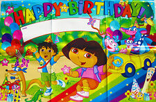 DORA THE EXPLORER HAPPY BIRTHDAY POSTER/BANNER - PARTY SUPPLIES