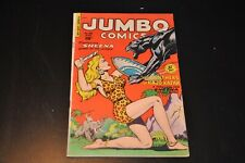 JUMBO COMICS #138, FICTION HOUSE, FN/VF cond, Sheena/Ghost Gallery! (1950)
