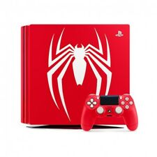 Consola Sony PS4 Pro 1TB roja Marvelspiderman