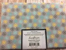 Jo Ann Block Of The Month Laceflower 1 Fat Quarter  New! Small Multi Flower