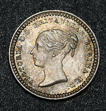 1839 UK Great Britain 1½ Pence 1.5D Silver Queen Victoria Coin KM# 728 - S. 3915