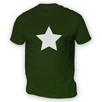 Star Mens T-Shirt -x13 Colours- Metal Alternative Emo Hardcore Band Rock Gig