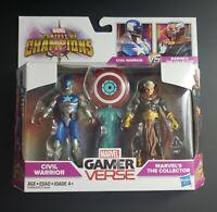 Marvel Gamerverse: Marvel vs Capcom Civil Warrior vs The Collector 2 Figure Set!