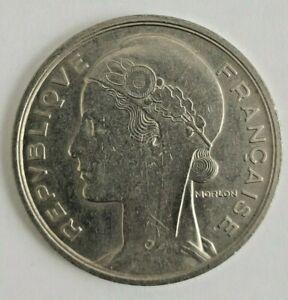 Concours de 5 Francs 1933 - ESSAI de Morlon en nickel - GAD 138.1