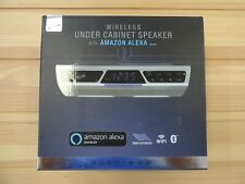 iLive IKBFV378S Platinum Wireless Under Cabinet Speaker with Amazon Alexa