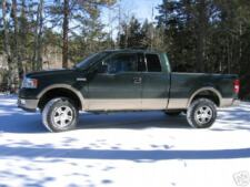 """AUTO SPRING AS 2004-2008 FORD F-150  2"""" Front Lift Kit"""