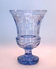 Große böhmische Jugendstil Pokal Vase Alexandrite Neodymium Glas