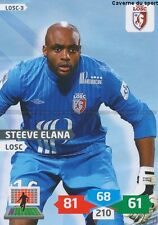 LOSC-03 STEEVE ELANA # LILLE CARD ADRENALYN FOOT 2014 PANINI