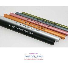 6pcs Acrylic UV Tips C Curve Rod Stick Nails French Manicure Nail Art Tool