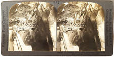 Keystone Stereoview of The Heart of Box Canyon, COLORADO from the 1920's 400 Set