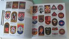#  #  CROATIA  ARMY  4 BRIGADA  1991 - 2011   PHOTOBOOK   PATCH  CROATIAN