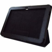 High Quality Black Pouch Flip Leather Samsung Galaxy Tab 10.1 P7500, P5100