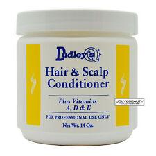 Dudley's Hair & Scalp Conditioner Plus Vitamins A, D & E Net. Wt. 14 Oz