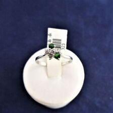 Handmade Green Sterling Silver Fine Rings