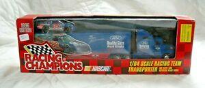 RACING CHAMPIONS Dale Jarrett Ford Hauler Truck 1:64 1996 NASCAR