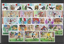 Liberia Juegos Olimpicos Mundiales Futbol Valores año 1971-74 (EY-920)