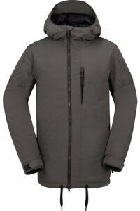 Volcom Sid Snowboard Jacket Men's Medium Vintage Black / Gray New