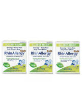 3 BOIRON Rhinallergy Kids Children Allergy Relief Medicine 60 Tablets EACH 03/23