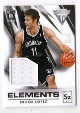 BROOK LOPEZ NBA 2013-14 TITANIUM ELEMENTS JERSEYS (BROOKLYN NETS)
