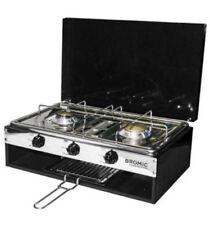 Bromic 2 Burner With Grill Camper Lido Junior Deluxe Cooktop 2020068