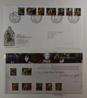 2009 ROYAL MAIL PRESENTATION FOLDER CHRISTMAS LET THERE BE LIGHT & FDC LOT 411