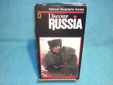 Discover Russia, National Geographic Society, VHS 1990