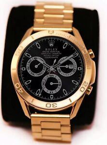 CUSTOM 24K Gold Plated 45mm Samsung Galaxy Watch 3 Gold Link Gold Bezel 2020