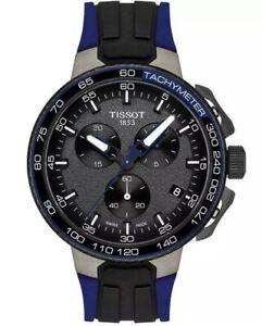 TISSOT T111.417.37.441.06 T-RACE MEN's CYCLING CHRONOGRAPH WATCH T1114173744106