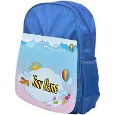 PERSONALISED CHILDRENS BACKPACK / SCHOOL BAG CLOUDS