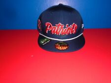 New England Patriots New Era 59FIFTY Established Collection FItted Hat 7 3/4 NEW